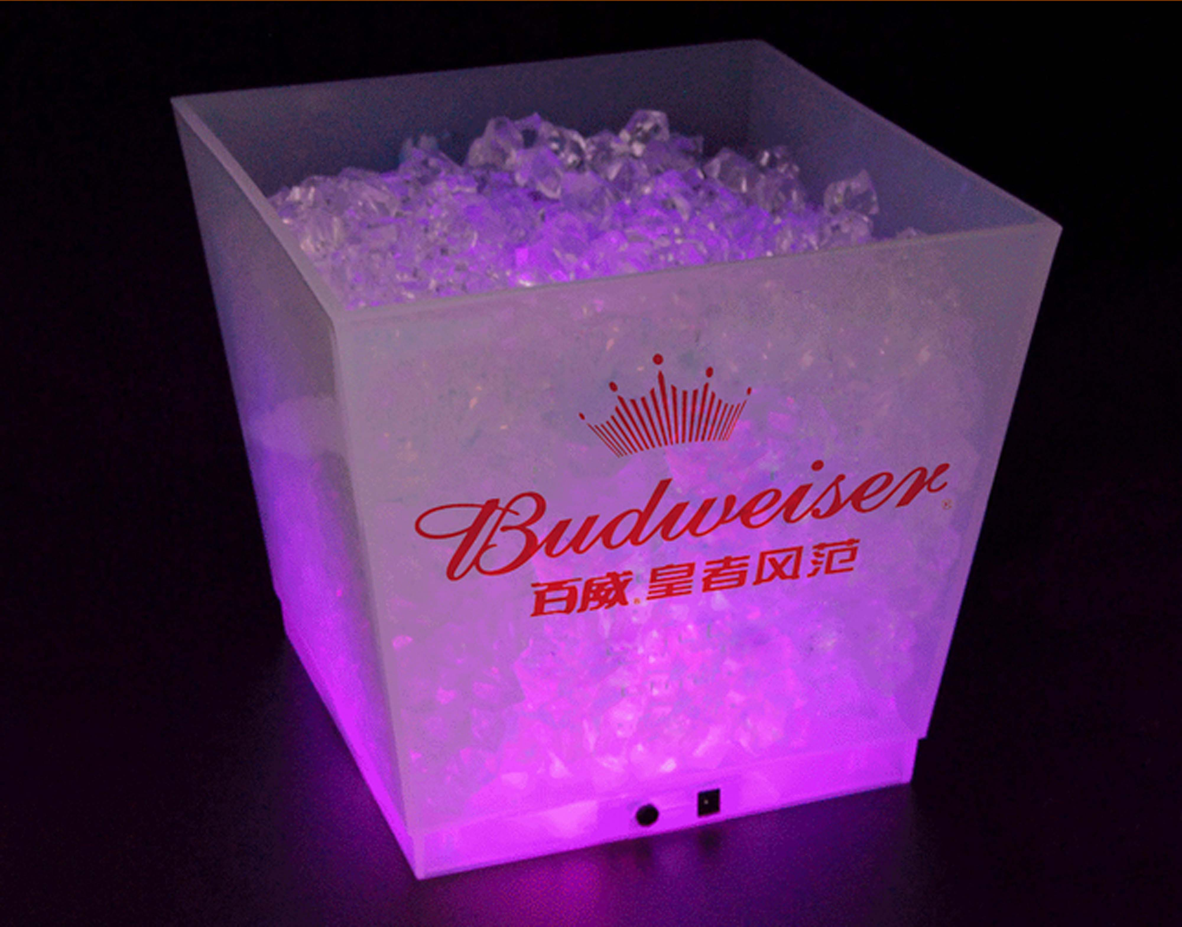 Square LED Beer Bucket