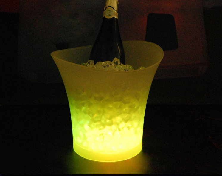 LED Beer Bucket Ice Chiller