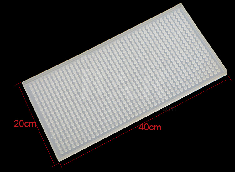 Rectangle Glowing PVC Mat