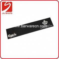 Matte Black Rubber Bar Service