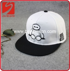 Canvas-Hip-Hop-Hut mit Baymax-Logo